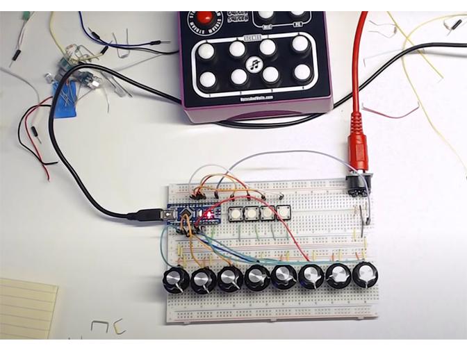 Proyecto mesa de mezclas Arduino para bachillerato