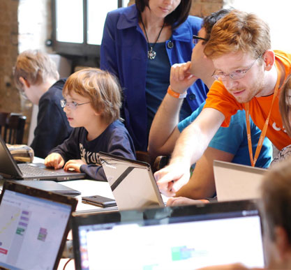 Programación por bloques para niños